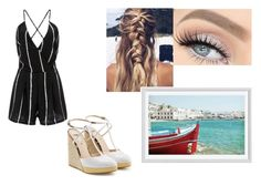 """Boat ride"" by tatyan45 ❤ liked on Polyvore featuring Fendi and Pottery Barn"
