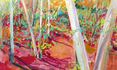 BOSQUE DE VERANO Painting, New Art, Canvases, Woods, Summer Time, Pintura, Painting Art, Paintings, Painted Canvas