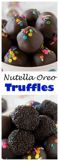 Nutella Oreo Truffle