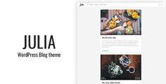 Julia - Classic WordPress Blog Theme