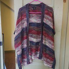 Top Multi color sweater Sweaters Cardigans