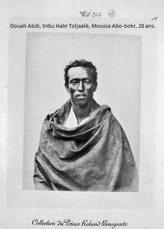 Vintage photograph of a Somali man Ancient Names, Postage Stamp Design, African Union, Horn Of Africa, Black Royalty, Warrior Pose, African Tribes, Asian History, Historical Images