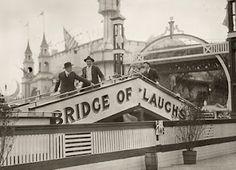 Bridge of Laugs at Luna Park, Coney Island, New York c.1912