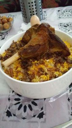 Rice with lamb ( kuwaiti dish )