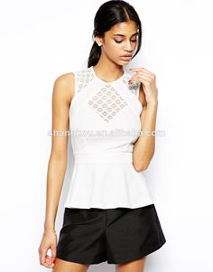 girls Top With Lace Panels Crew neckline wholesale chothing latest design girls top, View latest design girls top, Shangkou Product Details from Guangzhou Shang Kou Fashion Co., Ltd. on Alibaba.com