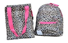 Amazon.com: Small Size Backpack For Child and Matching Insulated Lunch Bag (Black/White Chevron): Clothing