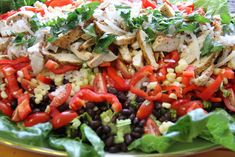Mennonite Girls Can Cook: Southwest Chicken Salad with Cilantro Dressing