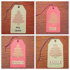 Christmas crafts: handmade gift tags
