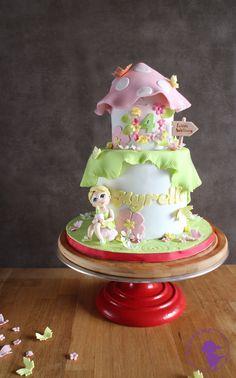 Fairy Theme Cake by Sugar Me Kissery