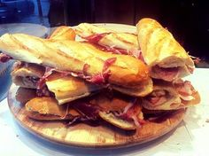 Amazing sandwiches! #Spain #Food