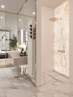 Luxury Bathroom Master Baths Marble Counters is definitely important for your home. Whether you choose the Luxury Bathroom Master Baths Photo Galleries or Luxury Bathroom Ideas, you will make the best Interior Design Ideas Bathroom for your own life. Bad Inspiration, Bathroom Inspiration, Best Interior Design, Interior Decorating, Luxury Interior, Bathroom Design Luxury, Bath Design, Luxury Hotel Bathroom, Luxury Master Bathrooms