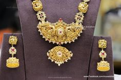 Indian Gold Bridal Jewellery Sets, Gold Indian Bridal Jewellery Designs.