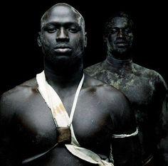 Senegal wrestlers