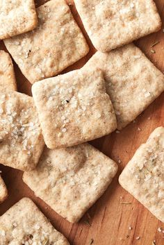 Sourdough Crackers Recipe (uses the discard)