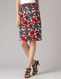 Belted Pleat Skirt by Boden (my most recent work-fashion discovery)