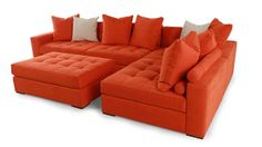 Eclectic styles add the 'wow' factor with this Jonathan Louis Noah Collection sectional sofa