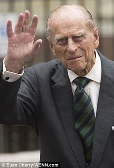 The Queen attended the reception with her husband the Duke of Edinburgh 19 Apr 2015