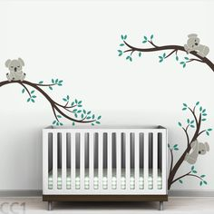 Found it at Wayfair - Tree Branches Koala Wall Decal