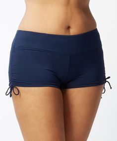 6a6fafa03c For coverage you can control, these comfortable Beach House Plus Size Blake  Adjustable Side Tie Swim Shorts offer minimalistic style.
