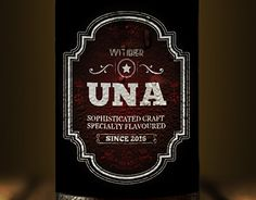 "Check out new work on my @Behance portfolio: ""UNA Witibier 