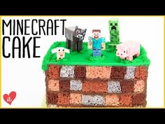 How to Make a Minecraft Checkerboard Cake ft. Jenn Johns of Cookies Cupcakes and Cardio - YouTube