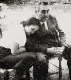 Pablo de Rokha y Violeta Parra.