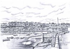 The Captains Walk , Kinsale Cork Irish Art, Cork Ireland, Art For Sale, Paris Skyline, How To Draw Hands, Drawings, Prints, Painting, Travel