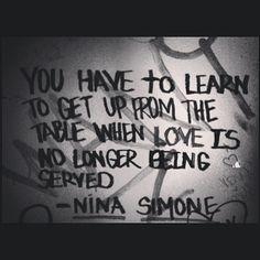 so I got up...   ~Nina Simone