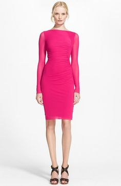 Jean Paul Gaultier Long Sleeve Tulle Dress available at #Nordstrom