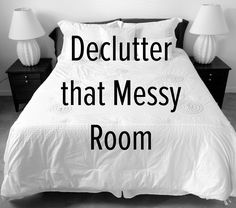 Check out our 7 simple decluttering ideas here: http://thetwovet.com/blogs/news/10007525-7-simple-ideas-for-organizing-a-messy-bedroom