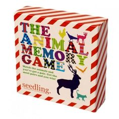 $28.50 - Seedling Animal Memory Game