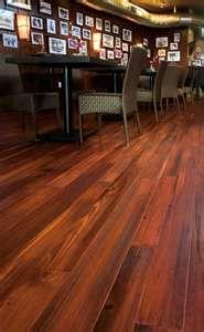 Distressed Pine Wood Floor