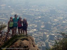 The FLLT group on the top of the world in Santiago, Chile.