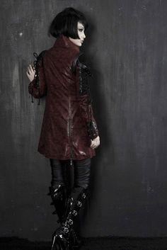 Punk Rave unisex Gothic Jacket Man-made Leather Rock steampunk Coat Lot clothing | eBay