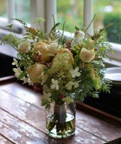 Late Summer Wedding Bouquet By Lock Cottage Flowers Surrey UK