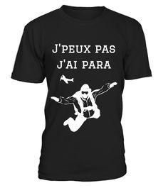 I love coeur parachutisme T-shirt