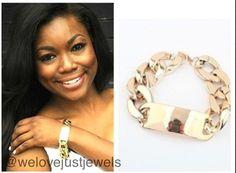 ID chain bracelet.  www.welovejustjewels.com