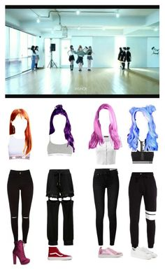 """TOXIC GIRLS × Bad Girls × Dance Practice"" by official-toxicgirls ❤ liked on Polyvore featuring Calvin Klein Underwear, Vans, rag & bone, Sophia Webster, Doublju, NIKE and adidas Originals"