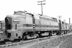 BALDWIN RF16 SHARK NOSE Train Car, Train Tracks, Black N White Images, Black And White, Baltimore And Ohio Railroad, Train Times, Diesel Locomotive, Model Trains, Motors
