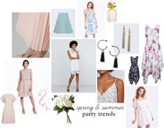 spring & summer 2017 party trends