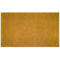 """Entryways Blank Extra Thick Hand Woven Coir Doormat, 36 by 2-Inch by Entryways. Save 27 Off!. $146.19. 36 in x 72 in. Extra Thick. Hand made from all-natural coconut fiber which is an excellent dirt-trapper; 1 1/2"""" thickness. This beautifully designed hand-woven doormat will enhance your entry way or patio. It's made from the highest quality all natural coconut fiber."""