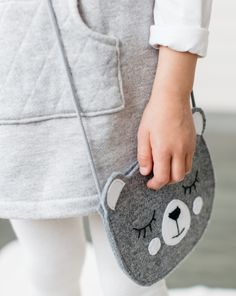 Craft Stick Crafts, Felt Crafts, Diy Crafts For Kids, Fabric Crafts, Gifts For Kids, Do It Yourself Mode, Do It Yourself Fashion, Felt Phone Cases, Fox Bag