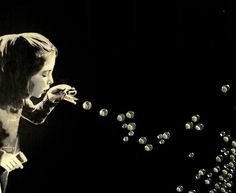 Blowing Glass Bubbles? - Many of you know that I started a Hallway project using all the left over glass pebbles (you know those kind you get at the craft store…
