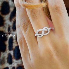 Infinity ring by olive