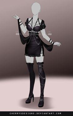 (OPEN) Outfit Adopt 687 by CherrysDesigns.deviantart.com on @DeviantArt