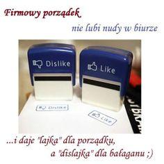 """Pieczątki """"like"""" i """"dislike"""" - pomogą w wyrażeniu swojej opinii na dyskutowany temat :D"""