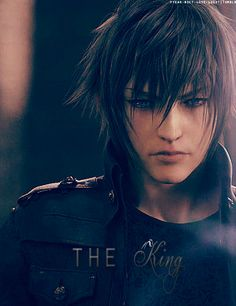 Final Fantasy : Prince Noctis Caelum. There have been days when my hair looked like this but believe me, in real life this is not a good look...