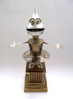 Robot Hojalata #magodeoz #yosoyrobot #reciclaje