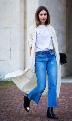 Style notes: Try it with cropped flare jeans.