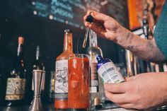 Saturday morning calls for... @SaisonMarket Bloody Mary - 1.5 Belle Isle Premium Moonshine - Texas Beach Bloody Mary Mix - 5 dashes Bittermans Orchard Celery Shrub  Add moonshine top with ice top with Bloody Mary mix. Garnish with okra.  #Cheers! . . . . .  #cocktail#infusion#rva#richmond#bartend#bartender#drinkmoonshine#moonshine#party#craftcocktails#drinklocal#cocktails#liquor#handmade#rubyred#premium#madeinva#virginia#madeinvirgina#madeinrichmond#richmondvirginia#honey#habanero